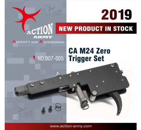 Action Army Specialised Zero Trigger Group for CA M24 LTR rifles