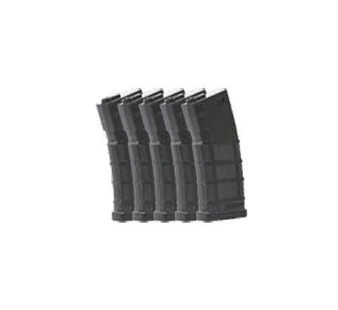 Bolt BMAG 140rd M4 Mid-Cap (Black) Magazines - 5/Pack