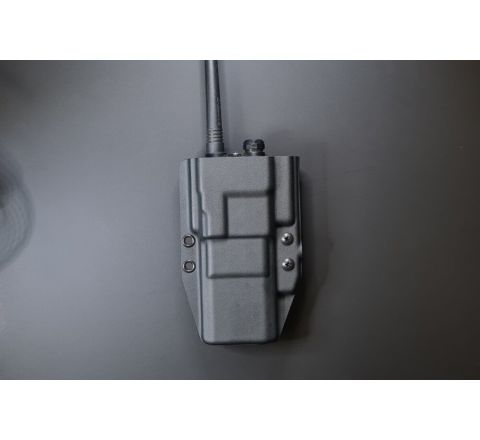 Kydex Customs Beofeng UV5R Radio Carrier (Extended Battery) - MOLLE (Malice)
