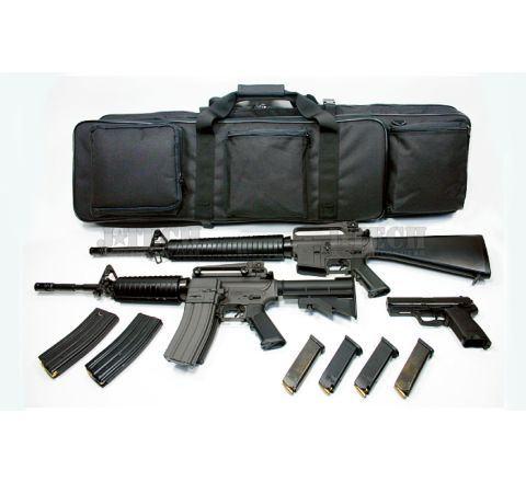 J-Tech Back-pack Dual Case - Black