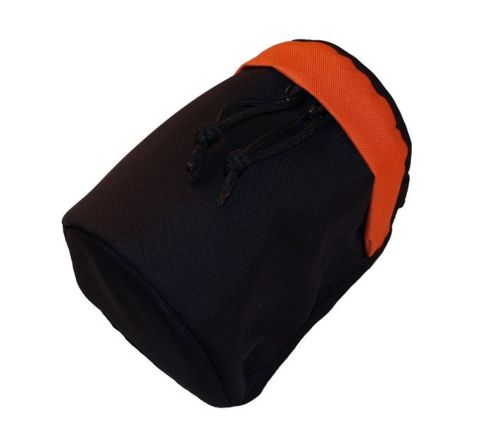 SAG Gear - Lens Pouch Small - Black & Orange