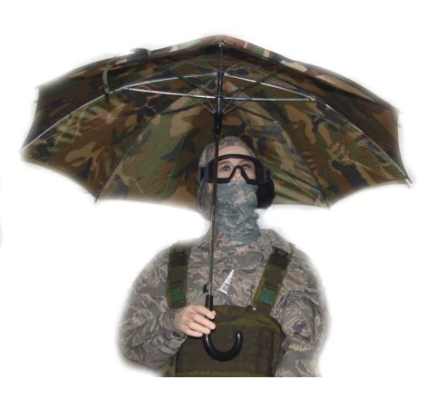 Camo Umbrella - Err, sunshade!