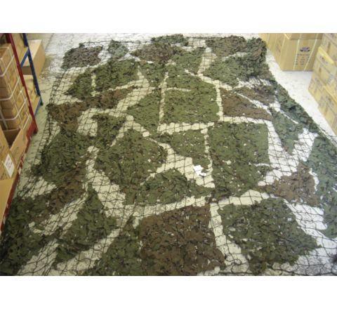 British Army Camouflage Netting 4.5x4.5m (Unissued)