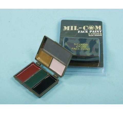 Mil-com Camo Face Paint Kit