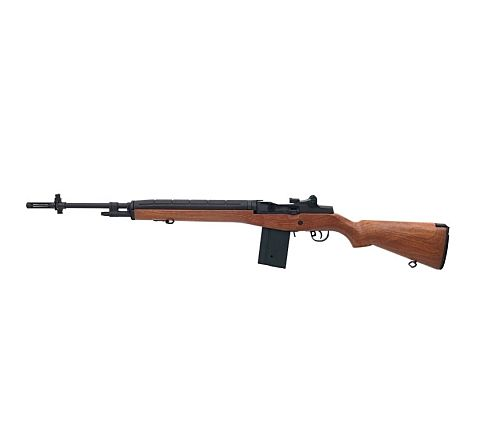 ASG Branded M14 Airsoft Rifle with Faux Wood Stock Inc. Battery and Charger