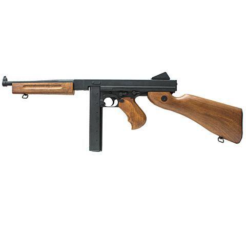 CYMA CM033 / CM.033 M1A1 Thompson Sub-Machine Gun AEG Airsoft Rifle