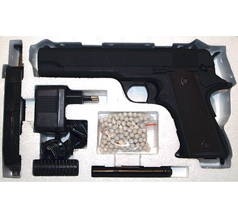 CYMA 1911A1 AEP CM.123 / CM123 Electric Airsoft Pistol