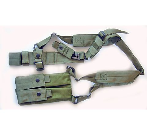 CoverT Machine Pistol Shoulder Holster - SMG-7 / SMG-5K / Skorpion / UZI