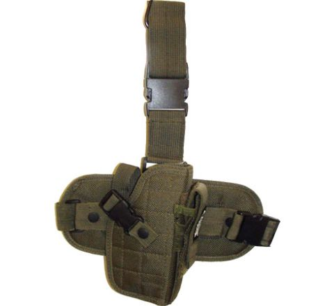 Covert Leg Holster With Thumb Break