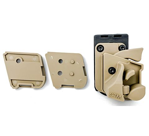 CTM AAP-01 Quick Release Holster - FDE