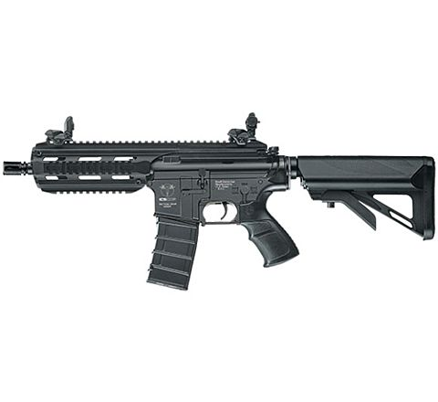ICS CXP16 Black Short Plastic Airsoft Rifle AEG