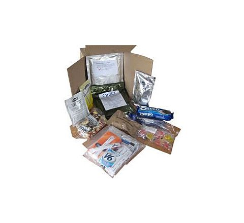 British Army Day Ration Pack
