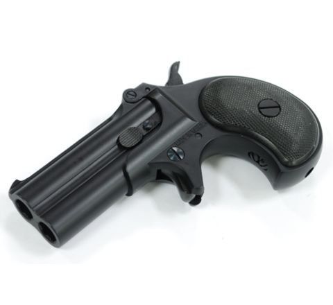 6mm Derringer Airsoft Pistol - Black