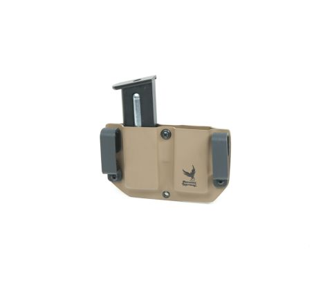 Phoenix Tactical Desert Eagle .50 Kydex Twin Magazine Holster - Coyote Brown