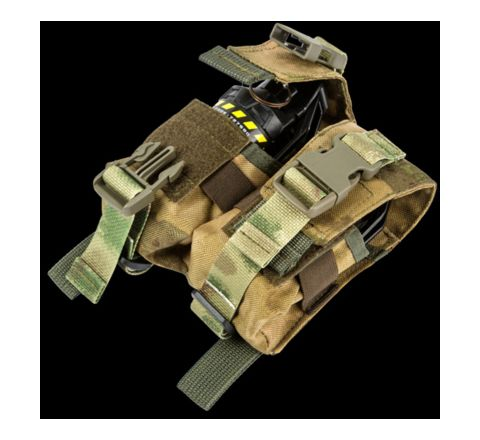 TAG Innovation Double Grenade Pouch - Moss/ATAC