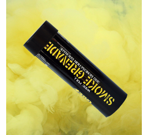 Enola Gaye WP40 Ring-Pull Coloured Smoke Grenade - Yellow