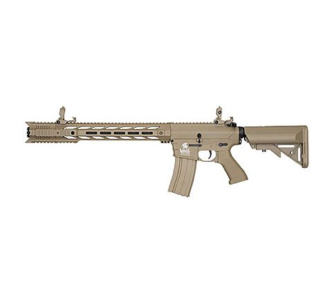 Lancer Tactical Gen 2 Interceptor SPR Airsoft Rifle - TAN