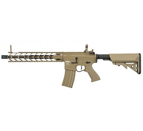 Lancer Tactical Enforcer Night Wing SPR Airsoft Rifle - Tan