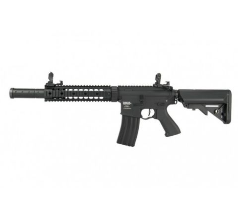 "Lancer Tactical Proline Gen 2 M4 SD MOSFET 9"" Airsoft Rifle - Black"