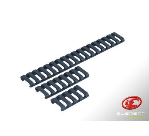 31-Rib Ladder 20mm Rail Covers - Black