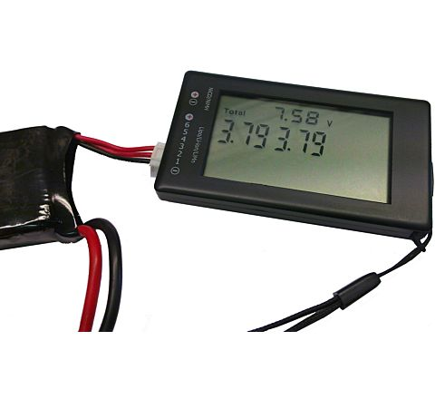 Vapex LCD-6 Battery Tester with LCD Screen for LiPo & Li-Ion