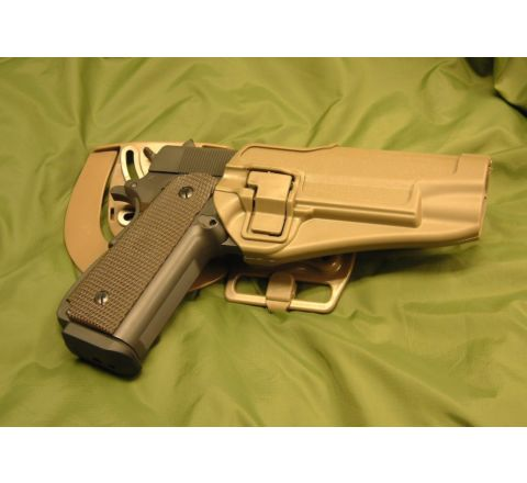 CQC Nylon Fibre Holster- Matt Finish Colt 1911 - Coyote Brown