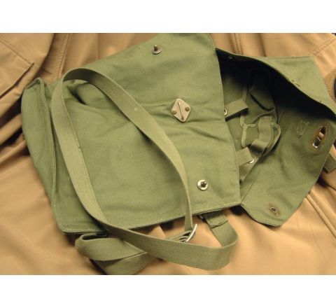 Swedish Army Gas Mask Bag