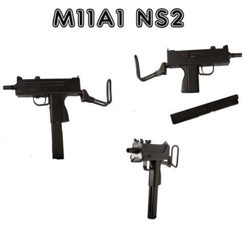 ASG Branded and COBRAY Licenced KWA/KSC M11A1 / MAC-11 / M11 / MAC11 NS2 Airsoft SMG