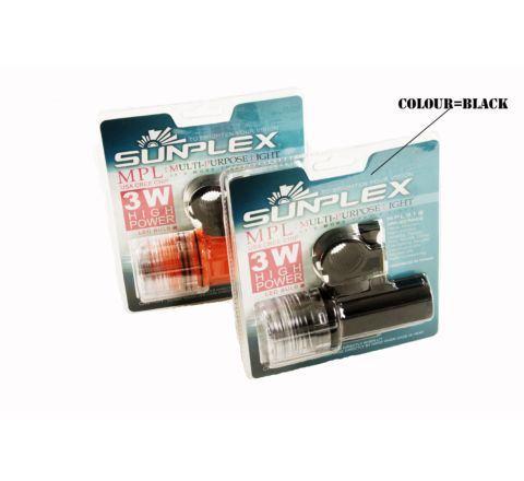SunPlex Multi-Purpose LED Flashlight - Black