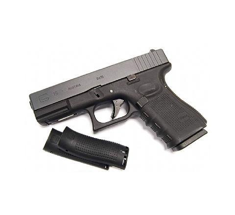WE Airsoft Glk 19 Gen 4 Tactical GBB Airsoft Pistol Black Frame