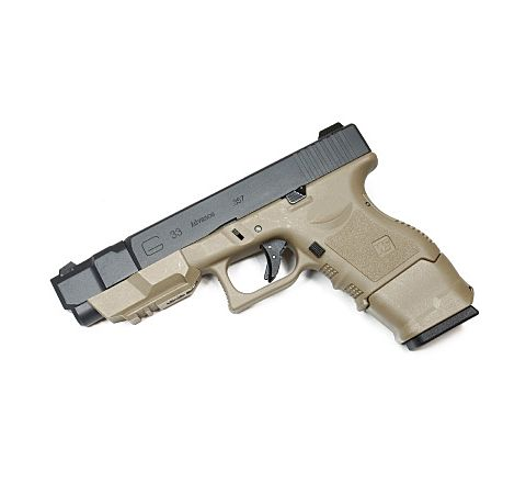 WE Airsoft Glk 33 Advance Airsoft Pistol - Tan