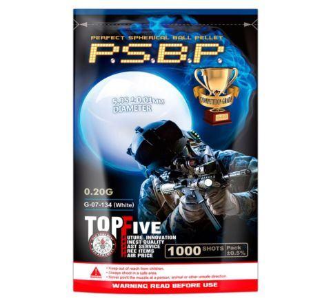 G&G PSBP Perfect BB 0.20g 1000Rnd (White) / G-07-134