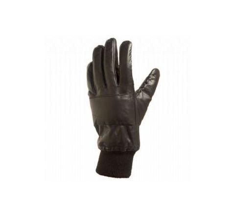 Black Leather N.I. Gloves