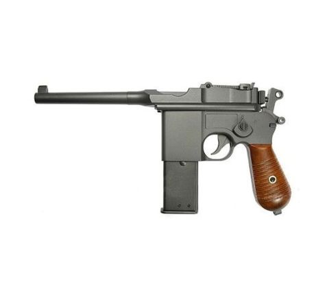 KWC M712 Broom Handle Mauser CO2 Airsoft Pistol