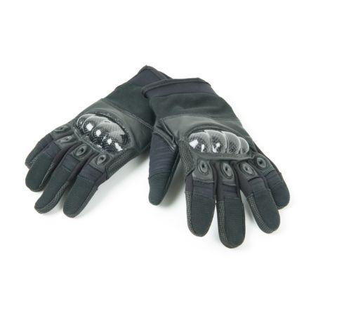 Highlander Carbon Kevlar type Combat Glove - Black