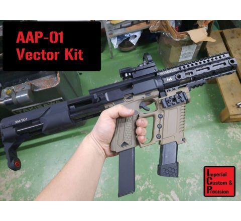 Imperial Custom & Precision: Vector Kit for Action Army AAP-01 - Black