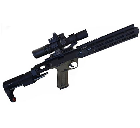 Imperial Custom & Precision: DD DMR Kit for Action Army AAP-01 - BLACK