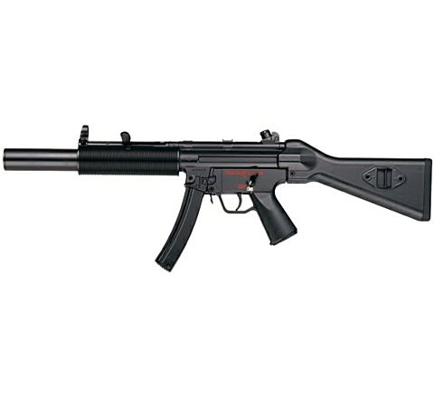 ICS MX5 SMG-5 SD5 Full Stock Metal Bodied Airsoft SMG AEG