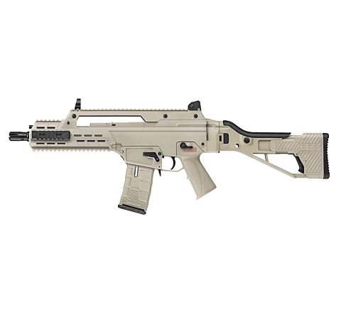 ICS AAR SFS Stock (G33) Airsoft Rifle - Tan