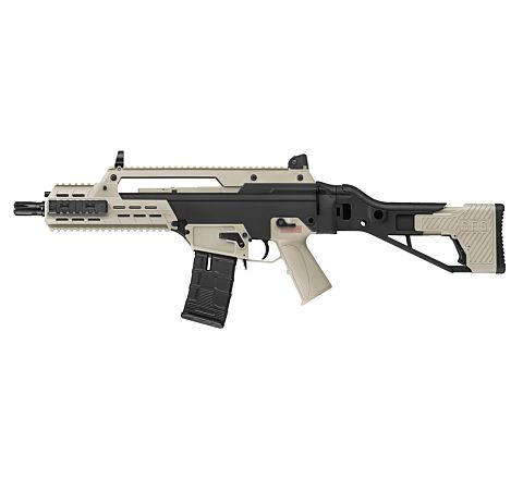 ICS AAR SFS Stock (G33) Airsoft Rifle - Black and Tan