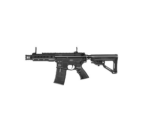 ICS CXP UK1 Captain MTR EBB (Electric Blow-Back) Airsoft Rifle - Black
