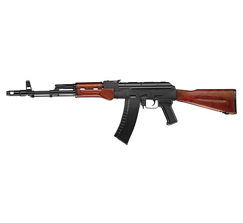 ICS MAR Fixed Stock (AK 74) Airsoft Rifle - Black