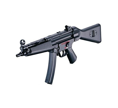 ICS MX5 SMG-5-A4 Plastic Body Full Stock Airsoft AEG Airsoft SMG