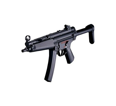 ICS MX5 SMG-5-A5 Plastic Body Retractable Stock Airsoft SMG AEG