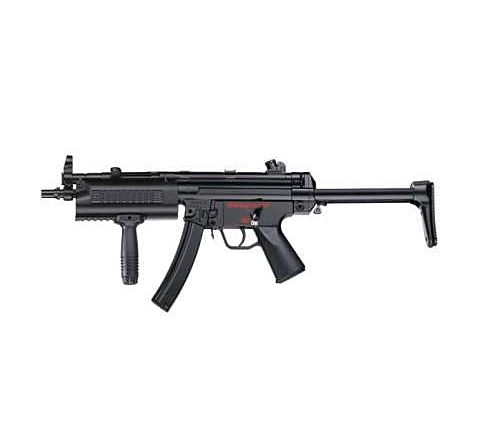 ICS MX5 SMG-5-A5 Navy Plastic Body Retractable Stock Airsoft SMG AEG