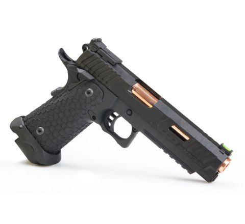 John Wick 3 (JW3) Baba Yaga Combat Master Gas Blowback CO2 Airsoft Pistol - Exclusive Custom 'Airsoft Assassin' Set.