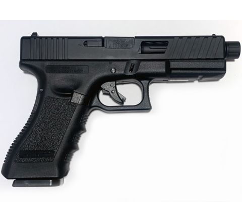 NEW! POSEIDON B&W W17 BB [Black Black] / 17 Custom CNC metal RMR slide GBB Airsoft pistol