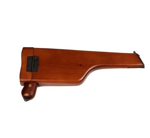 Wooden Holster / Stock for Mauser C96