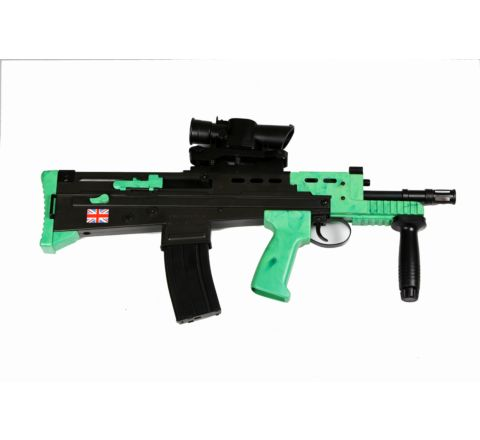 Two-Tone HFC L85 Carbine (AFV) Airsoft Rifle