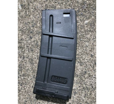 Cybergun branded SIG SAUER 300rd Hi-Cap magazine for SIG 556 models